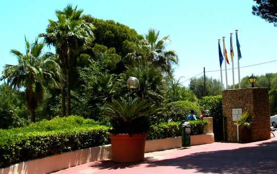 Cala Marsal: Garten