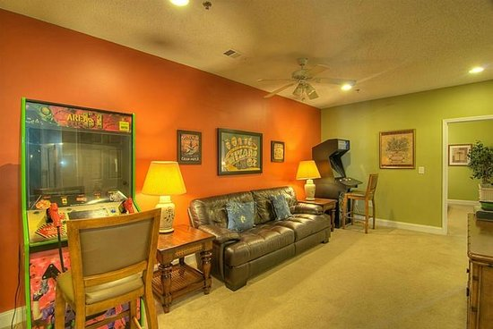 Cherry Grove Villas 205 Game Room by Elliott Beach Rentals
