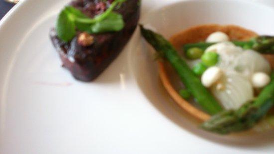 Hotel Castel Beau Site : foie gras poché dans le vin rouge