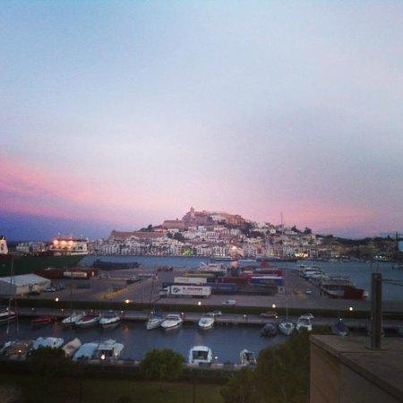 Ibiza Gran Hotel: Finest view of Ibiza