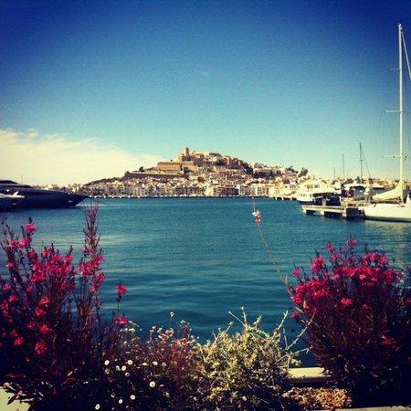 Ibiza Gran Hotel: View overlooking the port