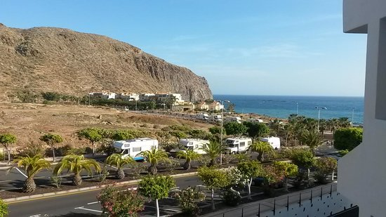 Paloma Beach Apartments: view from apartment