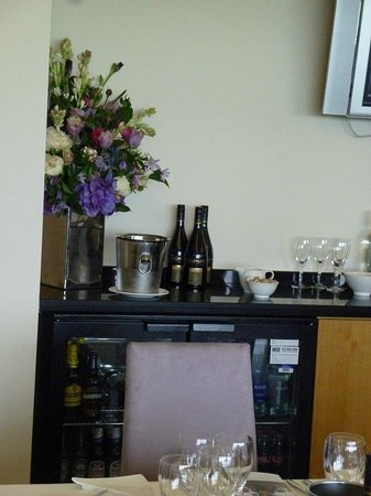 Ascot Racecourse: with champagne