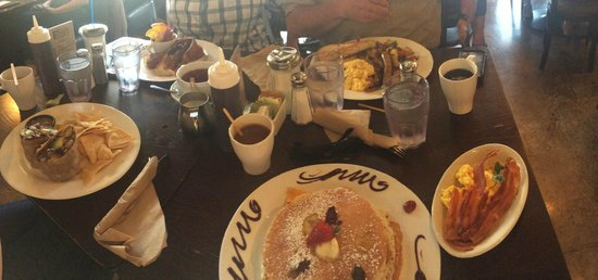 The Mission: Panorama of several dishes
