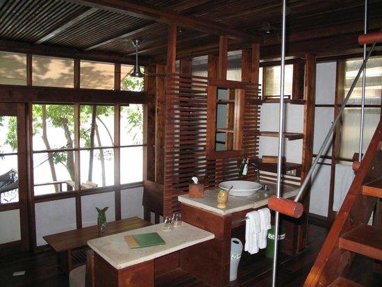 Jicaro Island Ecolodge Granada: Lower-level of casita