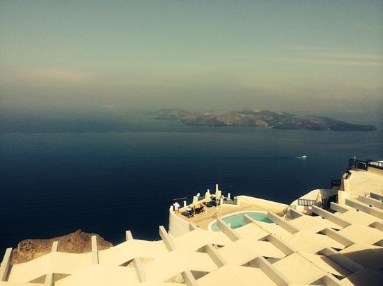 Lilium Villas Santorini: view of the Caldera