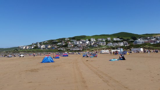 Woolacombe Bay Holiday Village : woolacombe beach