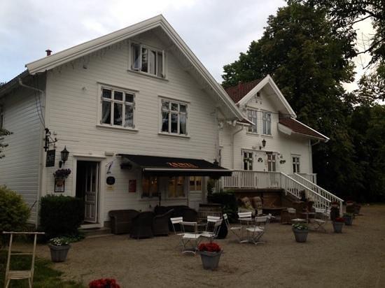 Paulsens Hotell: inngangspartiet