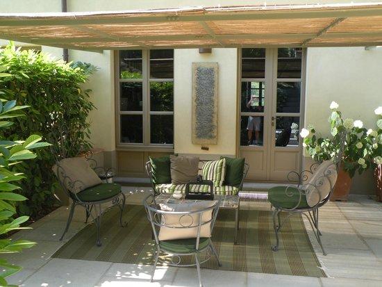 Locanda al Colle : Sitting area of suite