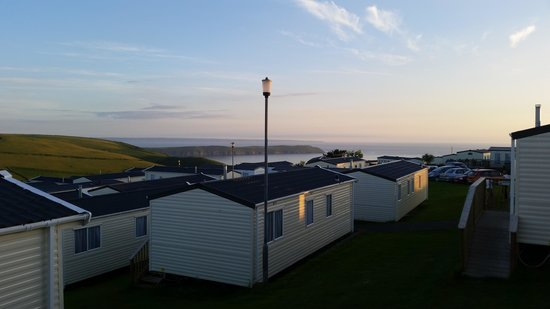 Woolacombe Bay Holiday Village : The view from the caravan