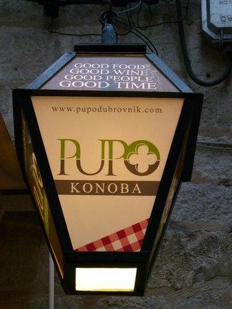 Konoba Pupo: street lamps
