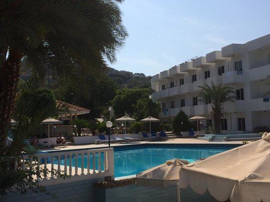 Thalia Hotel : Holiday view from the pool
