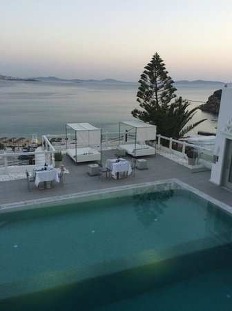 Grace Mykonos Hotel: View from room