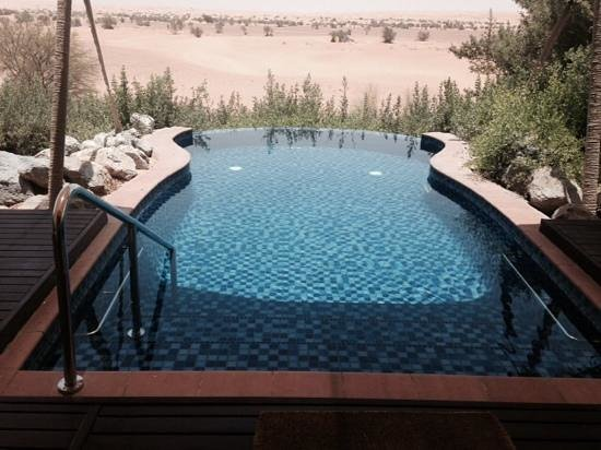 Al Maha, A Luxury Collection Desert Resort & Spa: Private Pool from Suite 15