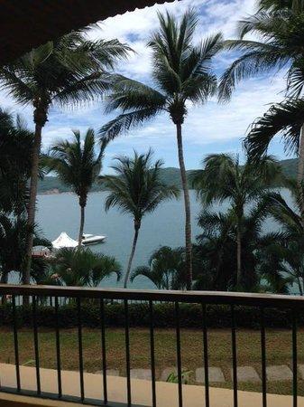 Camino Real Acapulco Diamante: Vista desde la habitaciòn