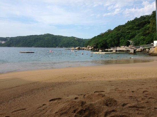 Camino Real Acapulco Diamante: En la playa