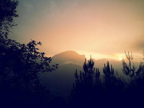 Tlatlauquitepec, Mexiko: atardecer