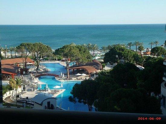 Cornelia De Luxe Resort: view from room