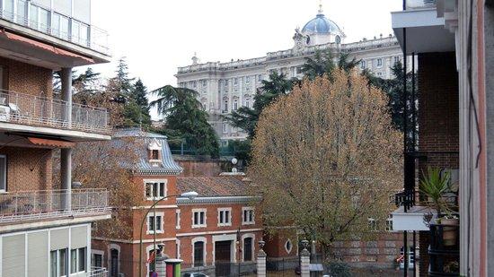 Hostal Sonne: Vistas del Palacio Real desde el Hostal