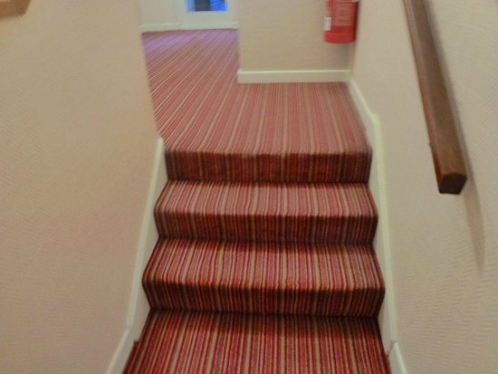Norfolk Lodge Hotel: stairs to lift