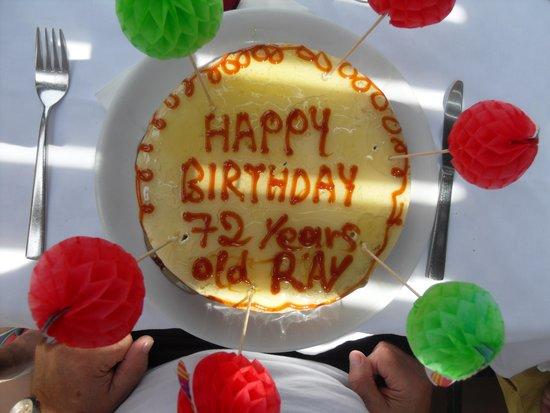 Mitsis Rodos Maris Resort Spa Birthday Cake