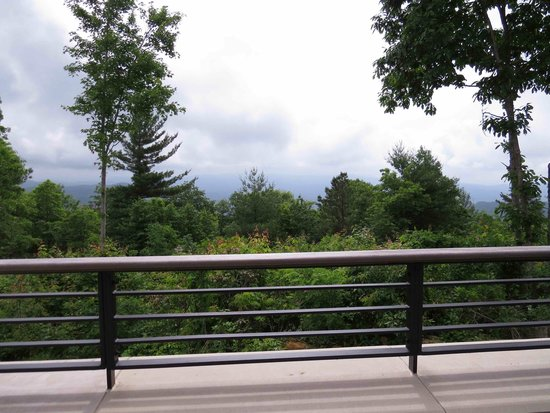 Gorges State Park: View from the Visitor Center