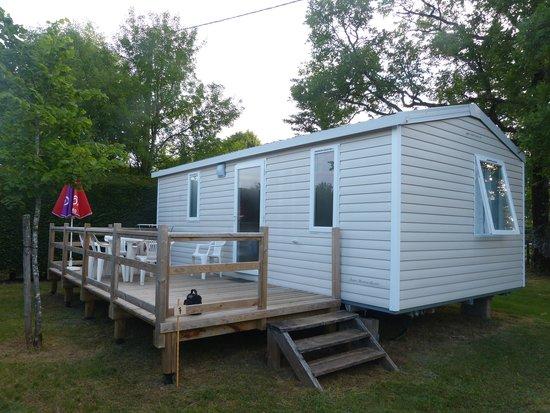 Camping La Nouvelle Croze : notre mobil home