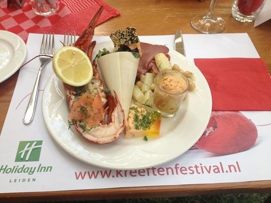 Holiday Inn Leiden: Lobster buffet June 2014