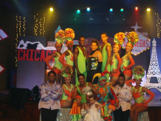 Blau Varadero Hotel Cuba: great staff show