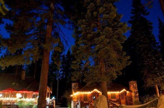 Cottage Inn at night