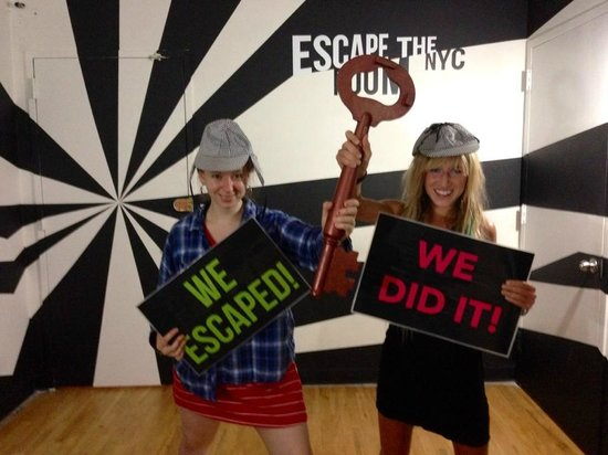 We Escaped the Room!!! What a fun time!! - Picture of Escape the ...