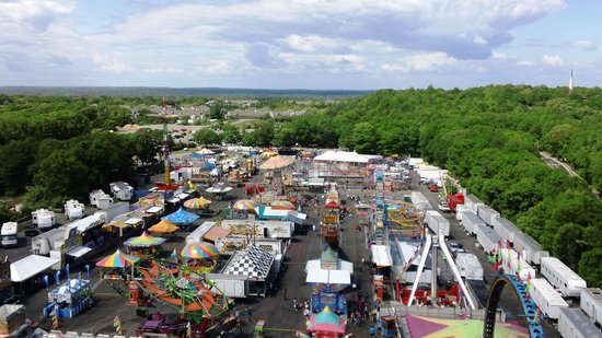 Farmingville, NY: View from the top of the Ferris Wheel