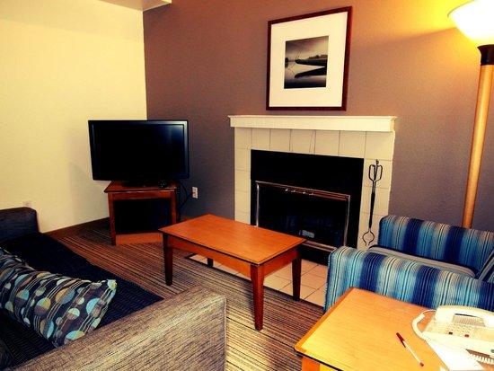Residence Inn Portland South/Lake Oswego: Living room area