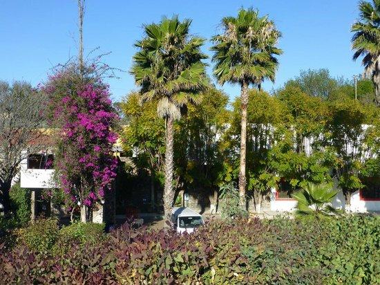 Mision San Gil: Blick auf das Hotel von der Straße aus