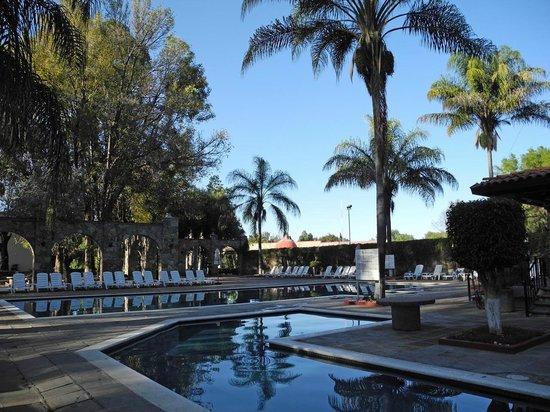 Mision San Gil: Pool im Abendlicht