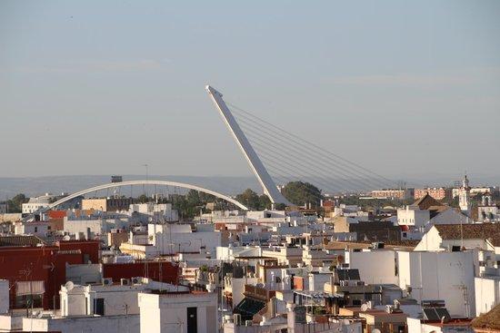 NH Sevilla Plaza de Armas: Vista da cidade