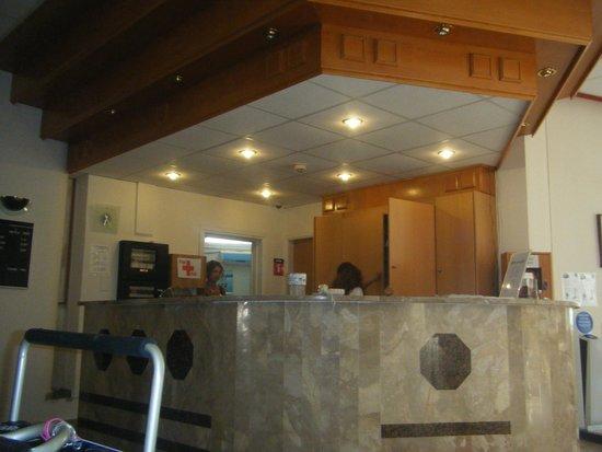 Papantonia Hotel Apartments : reception desk