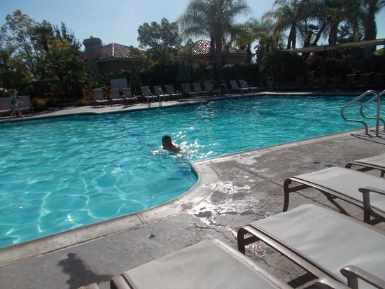 South Coast Winery Resort & Spa: Nice swim in the pool