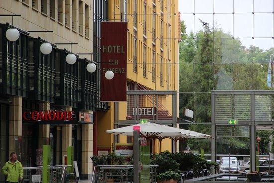 Hotel Elbflorenz Dresden: Ausenansicht