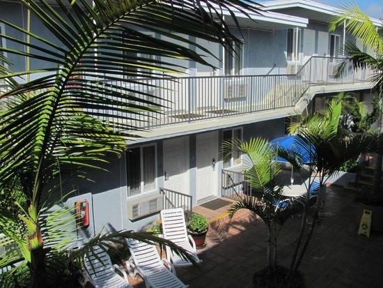 Travelodge Santa Monica : Courtyard