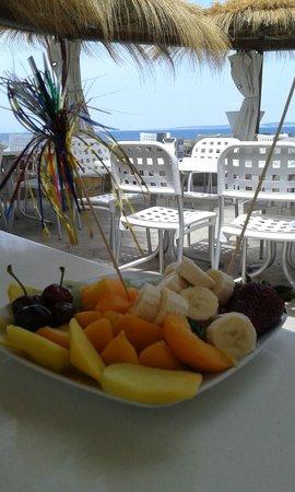 Cafe Del Mar: Insalata di frutta