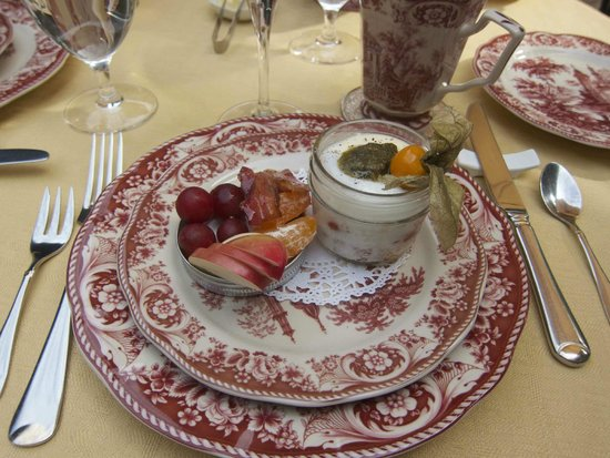 Auberge J.A. Moisan: Breakfast-savory course