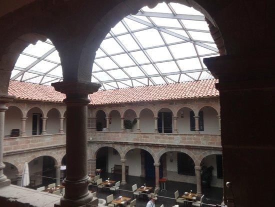 Novotel Cusco: inside courtyard