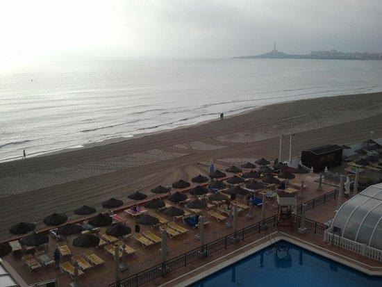 Hotel Entremares: Es un lujo levantarse con éstas vistas