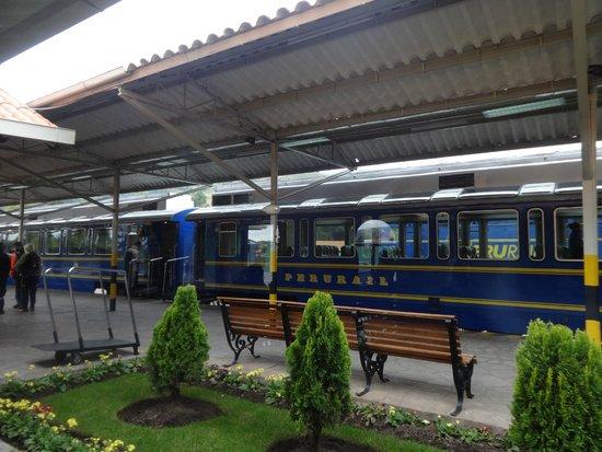 PeruRail - Vistadome: the train