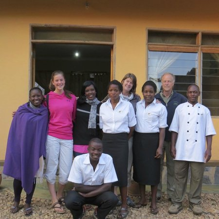 Gift of Nature Lodge: Our friendly welcoming staff.