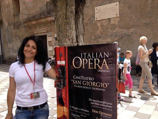 Italian Opera Taormina: Opera with a smile - the lovely Luisa