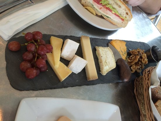 St James Cheese Company: Cheese board