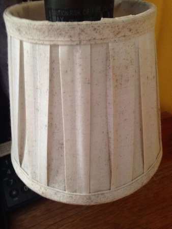 Royal Decameron Club Caribbean: Mould on the lamps in the bedroom next to bed!