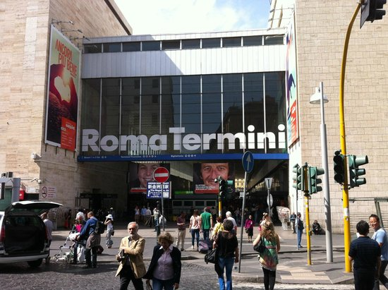 Stazione Termini: at Rome Termini train station